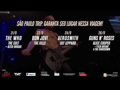 Rick Savage do Def Leppard convida para o São Paulo Trip