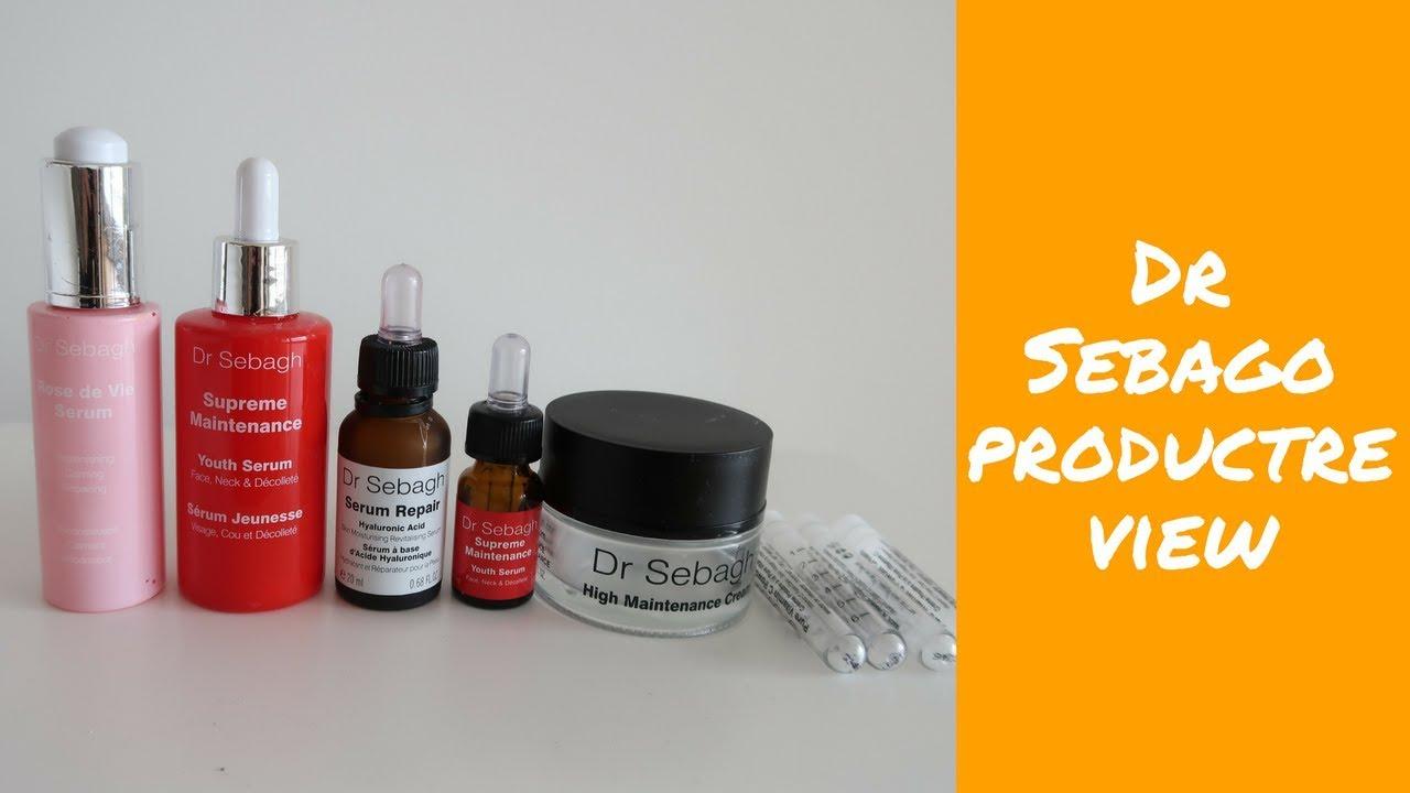 Dr Sebagh Full Line Skincare Review 赛
