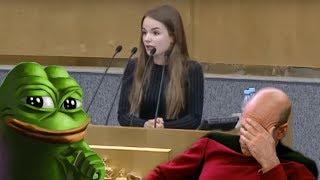 Саша Спилберг в Госдуме. Блогер-миллионник не понимает интернет.