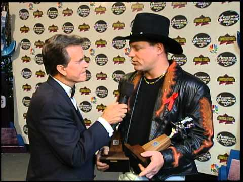 John Michael Montgomery Interview with Dick Clark - ACM Awards 1995