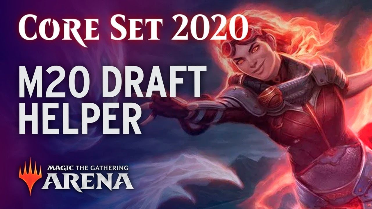 An Introduction to the M20 Draft Helper | Core 2020 Standard How To Guide  [MTG Arena]