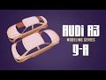 Blender Car Modeling Tutorial #9: Audi A3 Series #b3d