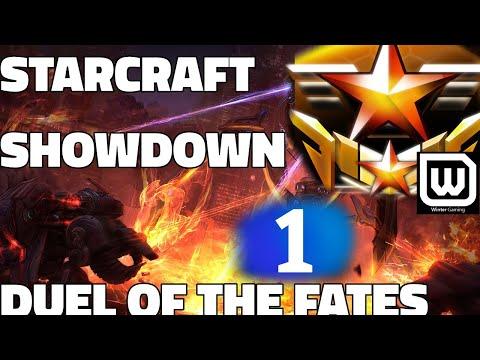 STARCRAFT SHOWDOWN #1 - DUEL OF THE FATES - HeroMarine vs Harstem