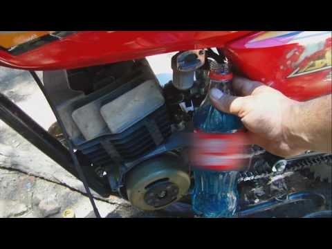 Tutorial Como hacer la mezcla de aceite 2t en el tanque de nafta al 3%