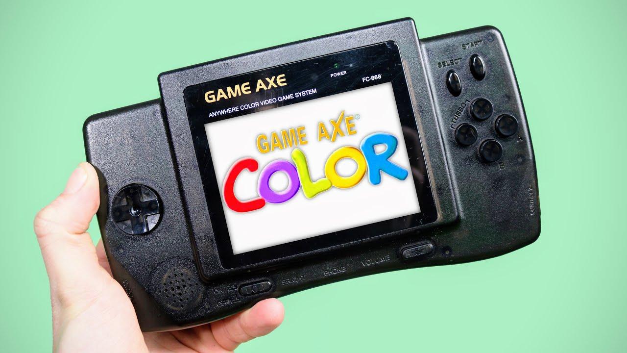 The 'Nintendo' GameAxe Color