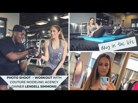 Photo shoot + Workout with Couture Modeling Agency Owner Lendell Simmons thumbnail