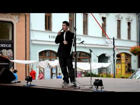Meggyes Csaba- 2011.09.07. Tom Jones-I'll never gonna fall in love again (cover)