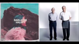 Halsey/Twenty One Pilots - Gasoline, Colors, Young God/Car Radio (Mashup)