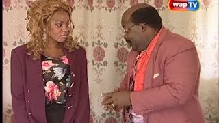 Papa Ajasco and Cossy Orjiakor in THE LIONS DEN Episode 1
