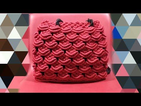 Macrame bag new design    hand made bag(part 2) #sangitascraft