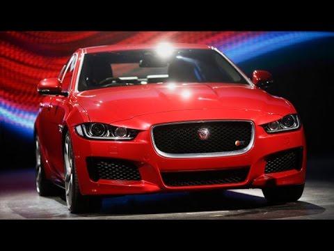 Jaguar's New XE Model Takes on BMW 3-Series