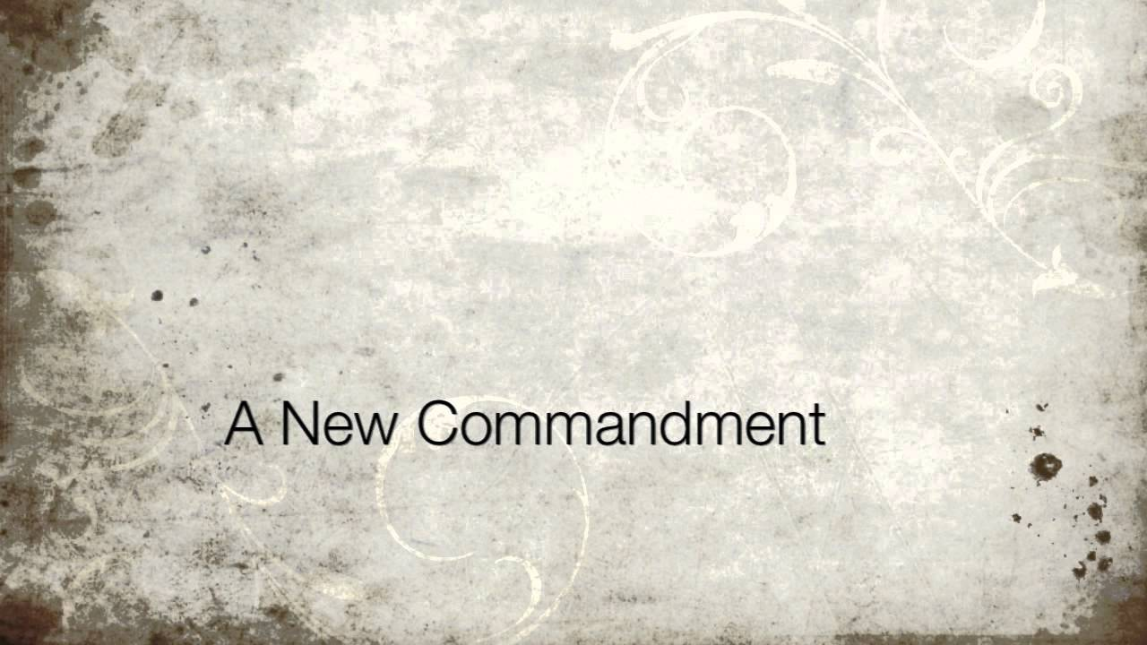 Sing the Word: A New Commandment - amazon.com