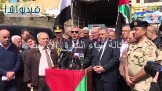 بالفيديو:السفير المصري ببيروت يسلم مساعدات طبيه مهداة من المستشفي العسكري بلبنان للاجئين الفلسطينيين