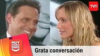 Fernanda Hansen recuerda distendida entrevista con Luis Miguel | Muy buenos días