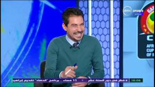 Can 2017 - ضحك وهزار محمد بركات بسبب احمد عيد عبد الملك والمنتخب العسكري