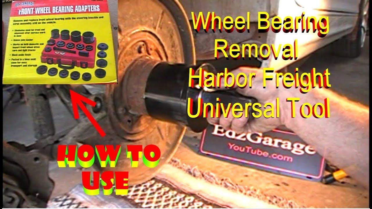 19pcs Pro Front Wheel Hub Drive Bearing Removal Bearing Remover Install Tools