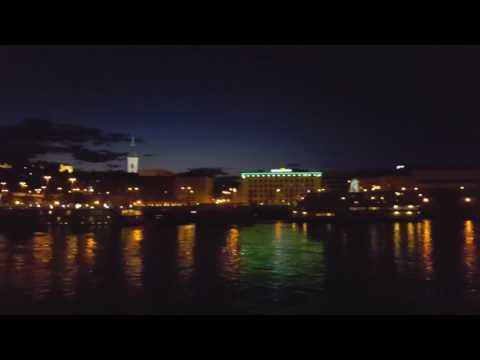 Bratislava bei Nacht an Bord der A-ROSA Bella
