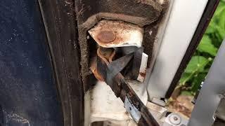 Barn Door Chevy Repair