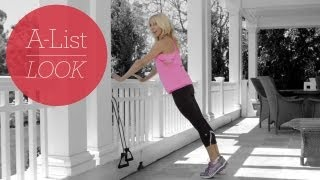 Pump It on the Patio Workout | A-List Look With Valerie Waters