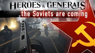 Heroes & Generals - The Soviets Are Coming Trailer thumbnail