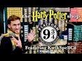 HARRY POTTER SHOP AT PLATFORM 9 3/4 | KING'S CROSS STATION, LONDON