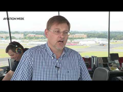 Farnborough Airshow 2014: NATS ATC Talks Air Display Validation