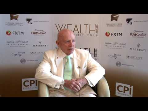 Dr. Mark Mobius, Executive Chairman, Templeton Emerging Markets Group at WEALTH Arabia Summit 2016