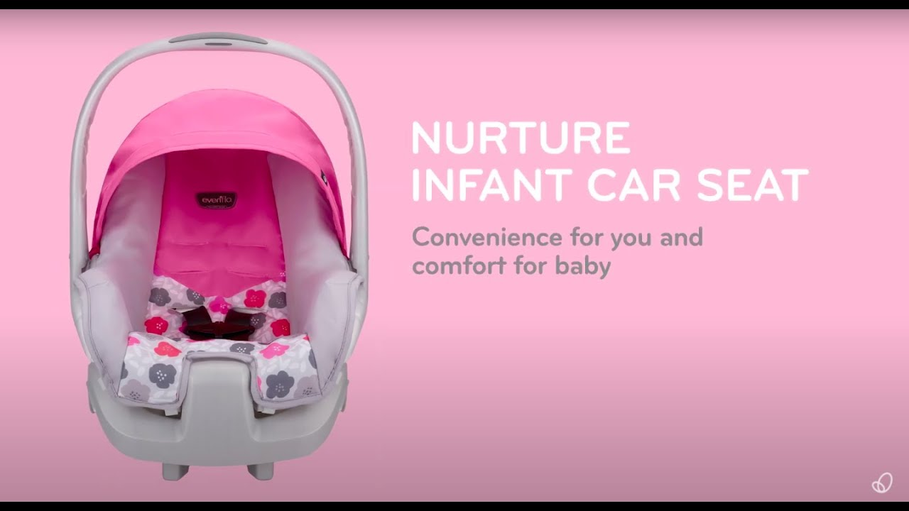 Graco Infant Car Seat Stroller Instructions Nurture Infant Car Seat Evenflo