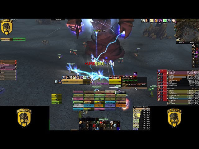Odobenus Rosmarus versus Thunderaan. Our first Thunderfury!