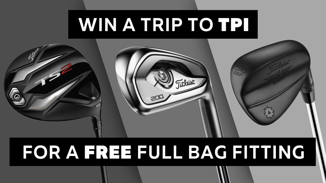 Titleist Sweepstakes - Get Fit Like a Pro