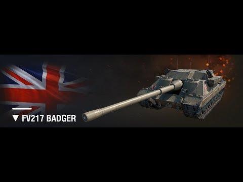 FV217 Badger он же барсук, он же дпм, он же бронированный , мммд посмотрим