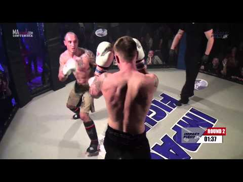 IMPACT FIGHT UK 4 - Brett Newman vs Harry Newman