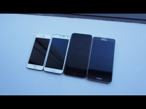 Compare Phones Side By Side >> Iphone 6 Vs Iphone 6 Plus Vs Android Phones Side By Side