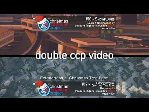 2017 CCP #16 & 17 - Snowflakes & Extraterrestial Christmas Tree Farm
