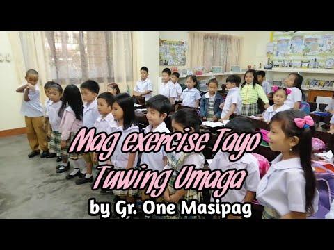 Mag Exercise Tayo Tuwing Umaga II Teacher Riza