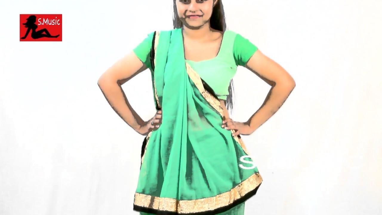 How to seedha wear pallu saree 2019