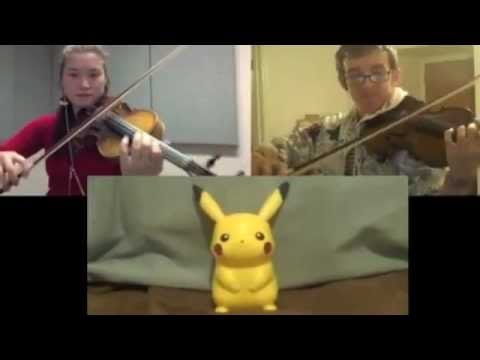 Pokemon R/B/Y - Evolution Theme [Violin Duet with JTehAnonymous]