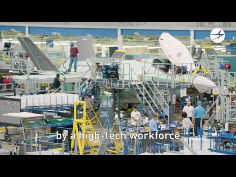 The F-35: Built by an Unrivaled, High-Tech Workforce