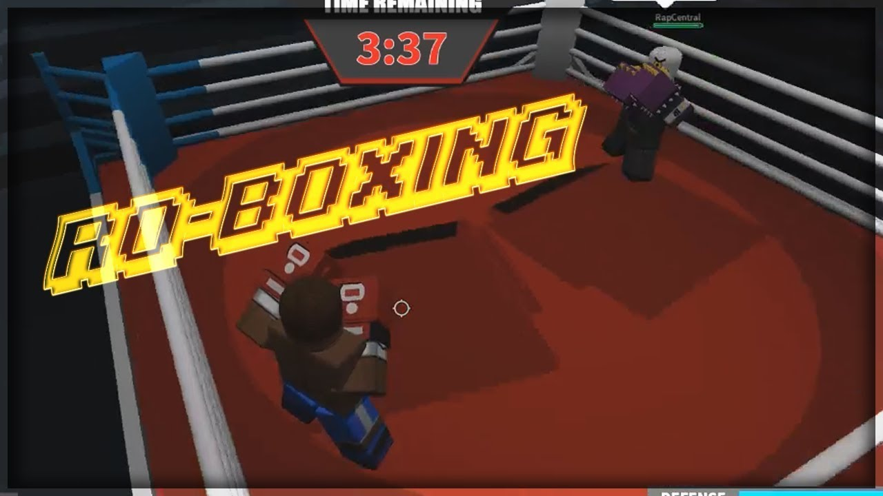 THE ULTIMATE ROBLOX BOXING GAME - ROBLOX Ro-Boxing ...