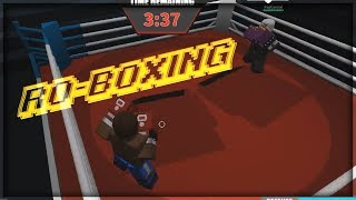 THE ULTIMATE ROBLOX BOXING GAME - ROBLOX Ro-Boxing Simulator Gameplay - Cool Monte
