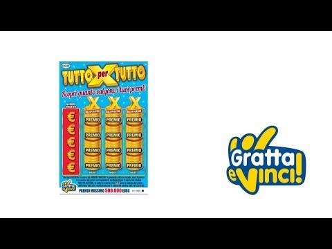 Gratta e Vinci: Tutto X Tutto - Tagliando 21 [Serie 40]