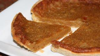 Recette Tarte au Sucre - Sugar Pie Recipe - Recettes Maroc