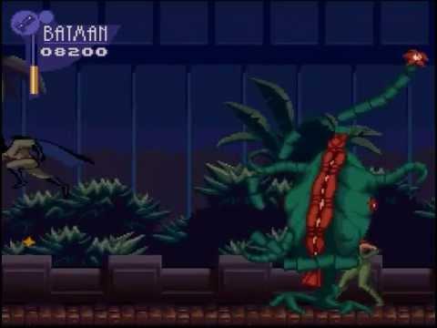 (SNES) Adventures of batman and robin. All bosses + Ending