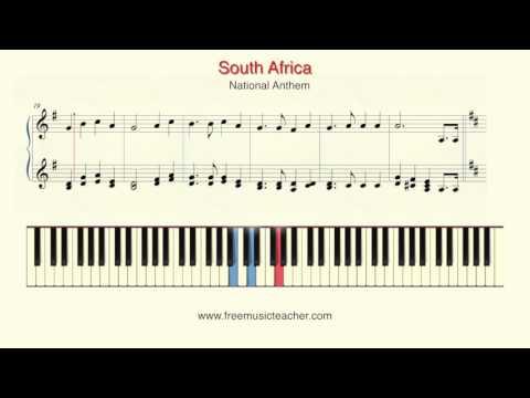 God Bless Africa Mungu ibariki Afrika National Anthem of South Africa National Anthem