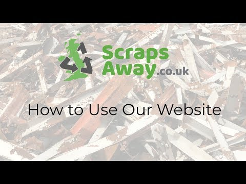 How to Use ScrapsAway.co.uk (Find scrap metal dealers and scrap metal prices)