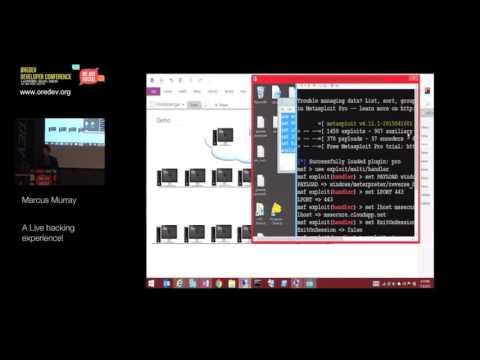 A Live hacking experience - Marcus Murray, TrueSec - Øredev Conference 2015