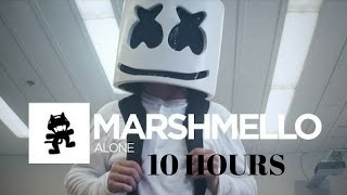 Marshmello I Alone 10 Hour [Official Monstercat Music Video]