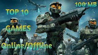 Top 10 Online/Offline game for andriod/ios with high graphics-[Part-1]