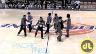 Quest Crew Performs at the She Cares Celebrity Basketball Game
