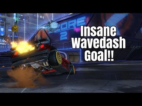 Squishy Muffinz Kickoff : Rocket League - Insane Wavedash Goal!! - YouTube